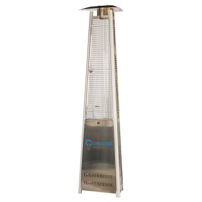 Pyramid gas outdoor heater -stainless