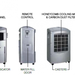 CL20AE and CL201AE Evaporated Air Cooler 1