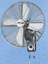 TEC-MW-SV Antique Wall Mounted Fan